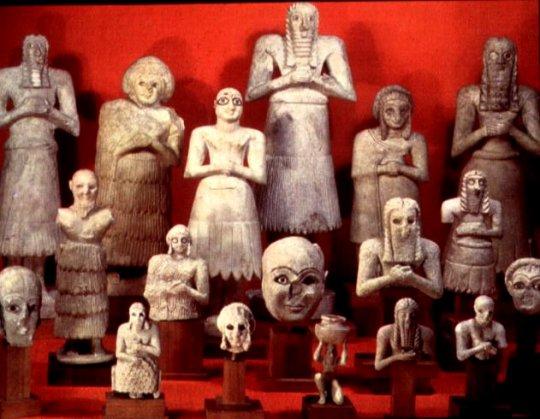 შუმერები ძვ.წ. 2700 წელს