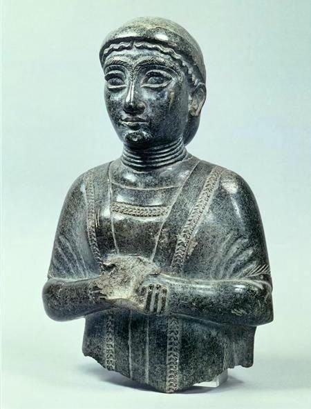 შუმერი ქალი. ძვ.წ. 22-ე საუკუნე