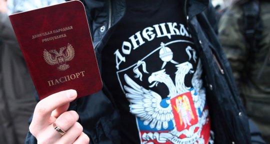 ...პუტინმა გაამარტივა რუსული პასპორტების გაცემა დონეცკისა და ლუგანსკის მცხოვრებთათვის