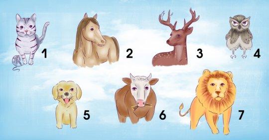 ამოირჩეთ 7 ცხოველიდან ერთერთი და გაიგე სინამდვილეში როგორი ტიპის ადამიანი ხარ