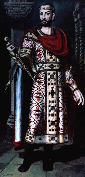 ბაგრატ III - საქართველოს მეფე. ავტ: გიორგი გეგეჭკორი.