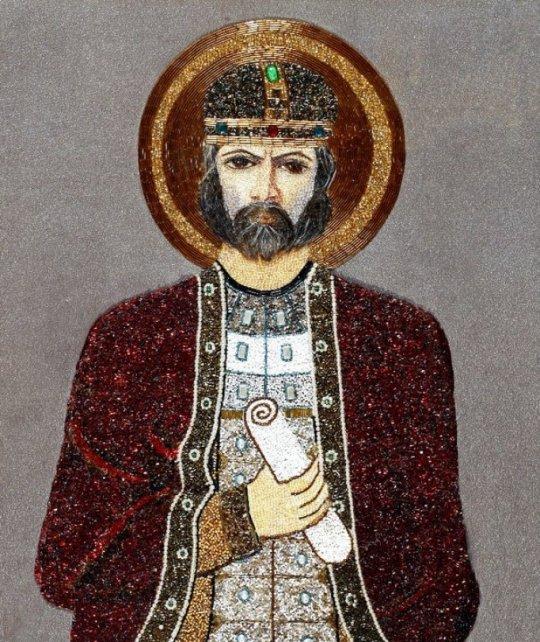 ბაგრატ III - საქართველოს მეფე. ავტ: ნელი ბერაია
