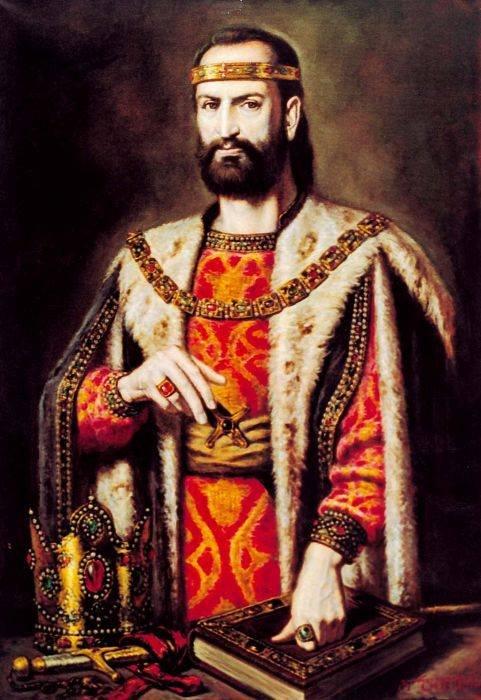 გიორგი III - საქართველოს მეფე. ავტ: გიორგი გეგეჭკორი