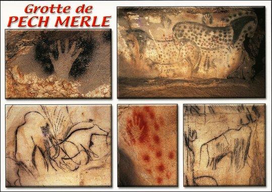 პეჩ მერლეს პრეისტორიული ნახატები