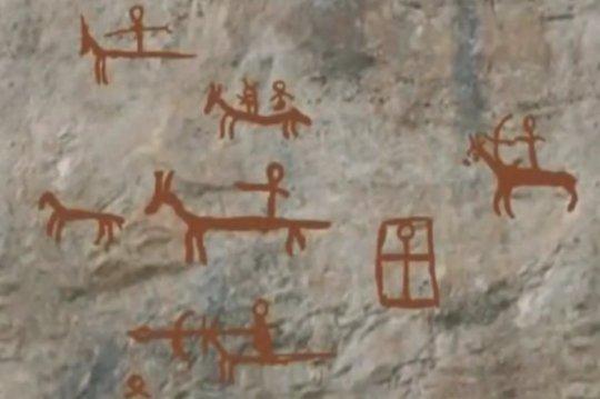 ხვამლის პიქტოგრამები - ძვ.წ. 5604 წ.