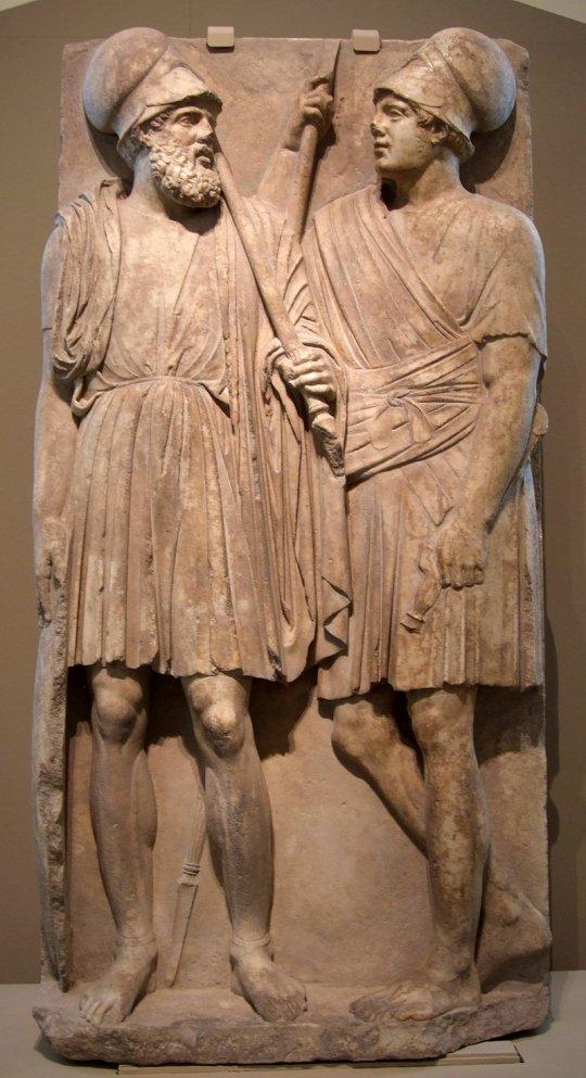 ბოსფორელი მეომრები - ძვ.წ. IV ს.