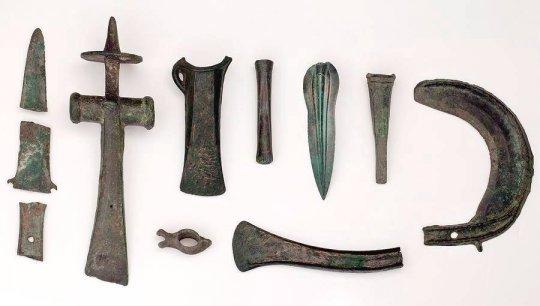ბრინჯაოს ხანის იარაღები