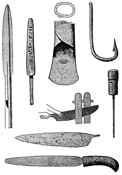 რკინის ხანის იარაღები