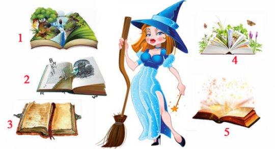 აირჩიეთ მაგიური წიგნი და გაიგეთ, რა გელით!