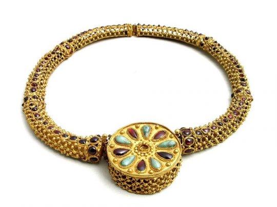 კოლხეთი. Colchian Necklace II-III centuries BC.