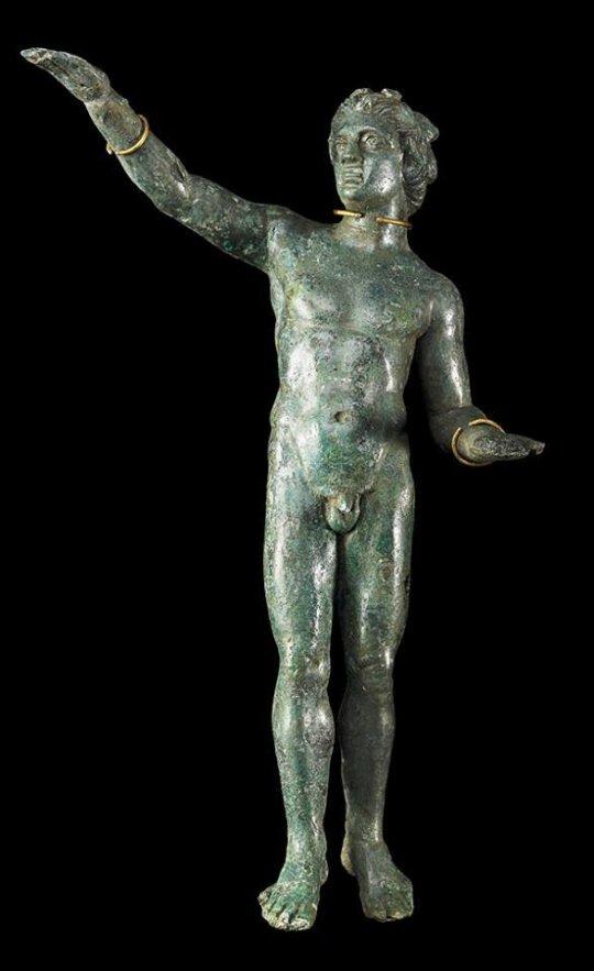 კოლხეთი. Satirical sculpture. Bronze. Gold. Colchis. Vani.