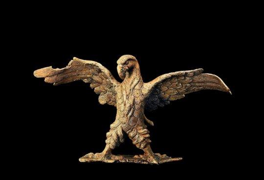 კოლხეთი. Colchis Eagle. Vani. Bronze statue of the 2