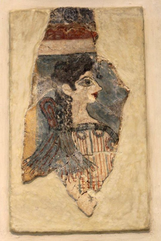 """კრეტელი """"პარიზელი ქალბატონი"""". ძვ.წ. 1500"""