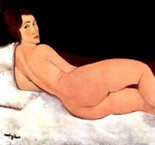 ამადეო მოდილიანის მიერ დახატული ქართველი ქალი