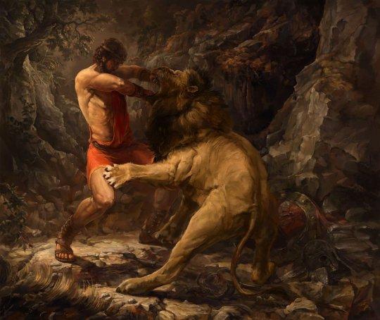 ჰერაკლე - ლომისტყაოსანი