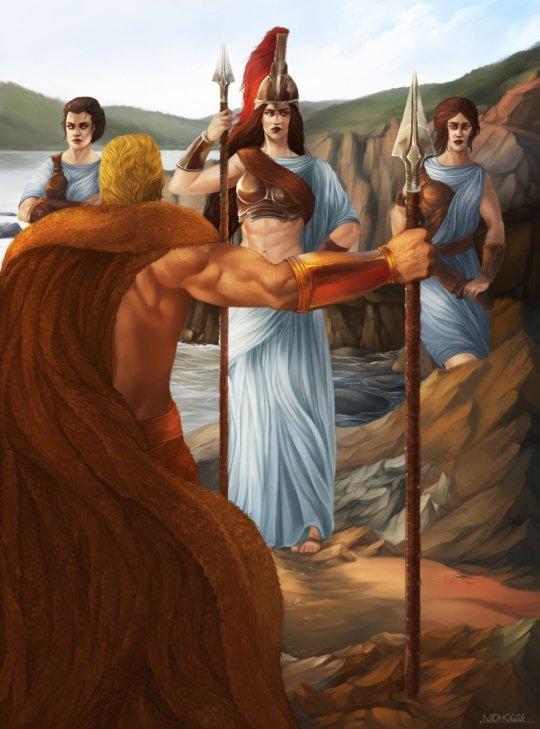 ჰერაკლე ამორძალების წინააღმდეგ