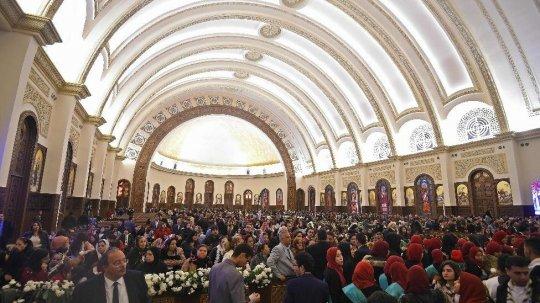 უდიდესი ქრისტიანული ტაძარი ეგვიპტეში