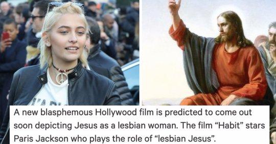 ახალმა ფილმმა ქრისტეზე, სადაც იესო ლესბოსელი ქალია, მსოფლიო აღაშფოთა
