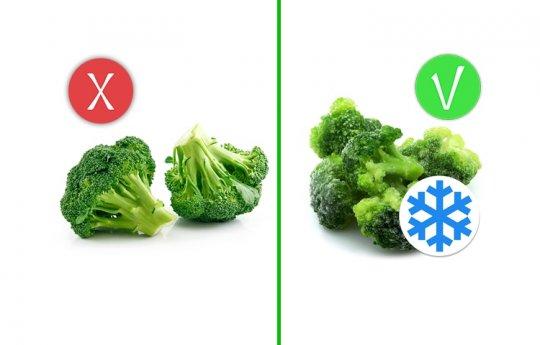როგორი ხილი და ბოსტნეულია უფრო  სასარგებლო: ახალი თუ გაყინული?