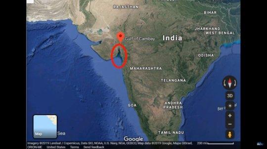 ინდოეთის ჩაძირული ქალაქი