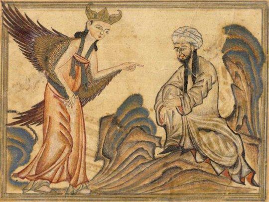 მუჰამედი და ჯაბრაილი