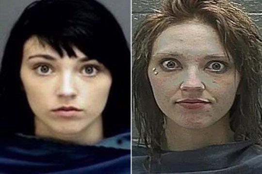 როგორ შეცვალა ნარკოტიკებმა გოგონას გარეგნობა 6 წელიწადში(ფოტო-ვიდეო)