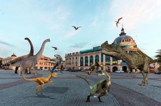 ქუთაისი დინოზავრების ეპოქაში დაბრუნდა?