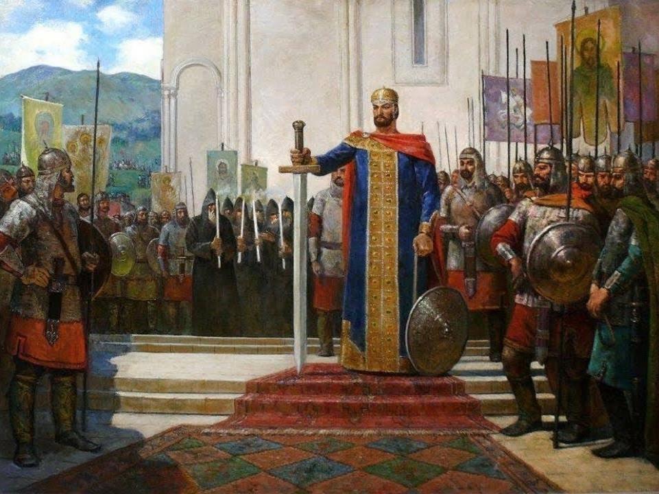 David IV Bagration (The builder - Agmashenebeli) - The King of Georgia დავით IV ბაგრატიონი (აღმაშენებელი) - ერთიანი საქართველოს მეფე