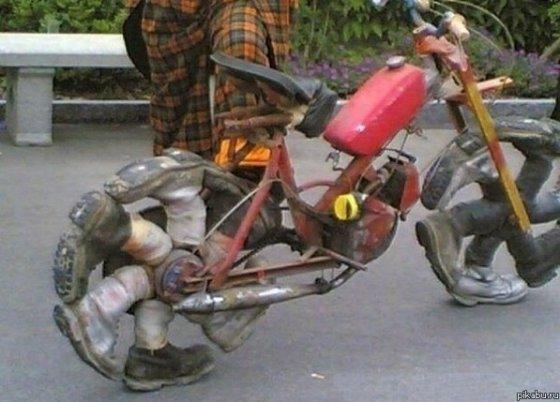 კრეატიული ველოსიპედი