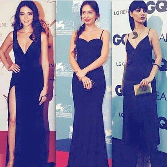 ერთ ფილმში სამი ასეთი ლამაზი ქალი ფუფუნებაა