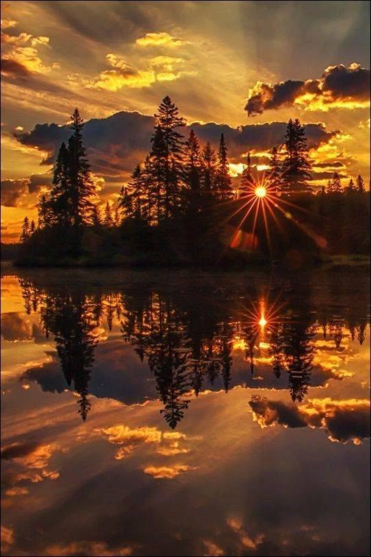 საოცარი მზის ამოსვლა