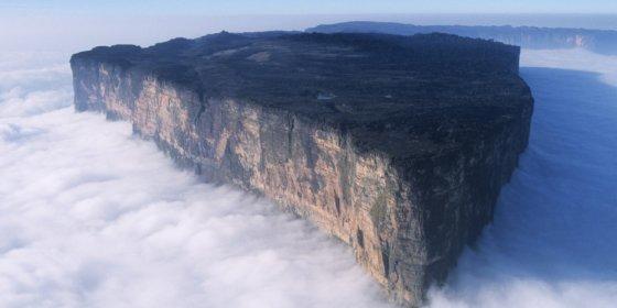 რორაიმას მთა - პრეისტორიული პერიოდის მთა!