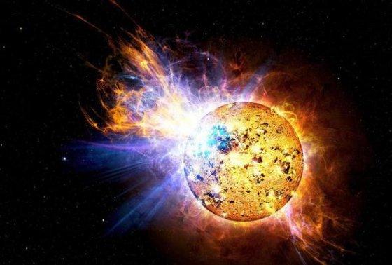წითელი ჯუჯას ვარსკვლავი (Red Dwarf Star)