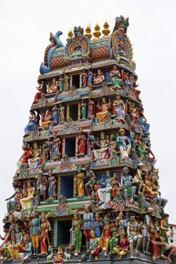 კალიკამბალის ტაძარი ტამილ ნადუში. ინდოეთი.