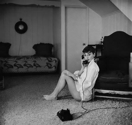 25 წლის ოდრი ჰეპბერნი, 1954 წელი