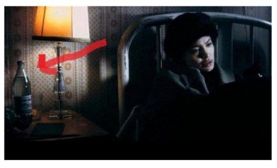 ბორჯომის ბოთლი ანჯელინა ჯოლის ერთ-ერთ ფილმში