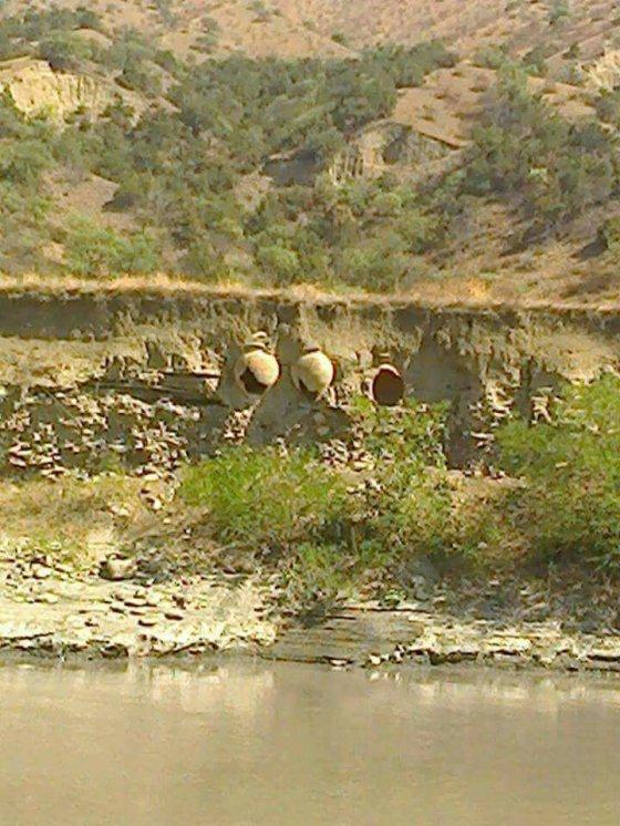ალაზანმა აზერების ტერიტორიაზე ქართული ქვევრები გამოაჩინა