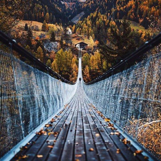 შემოდგომა ბელვალდში, შვეიცარია