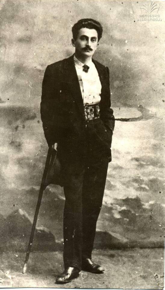კონსტანტინე გამსახურდიას ახალგაზრდობის ფოტო