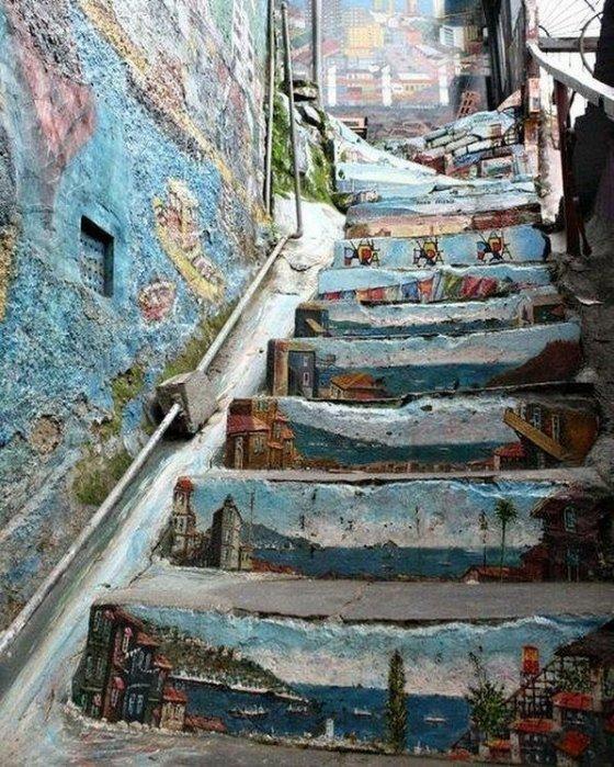 ასეთი კიბეები რომ იყოს, ყველგან...