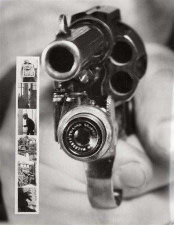 ცეცხლსასროლი იარაღი, რომელიც ასევე ფოტოსაც იღებდა