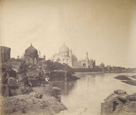 ტაჯ-მაჰალი 1850-1860 წლებში