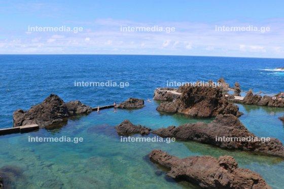 კუნძულ მადეირას მშვენიერი ადგილი