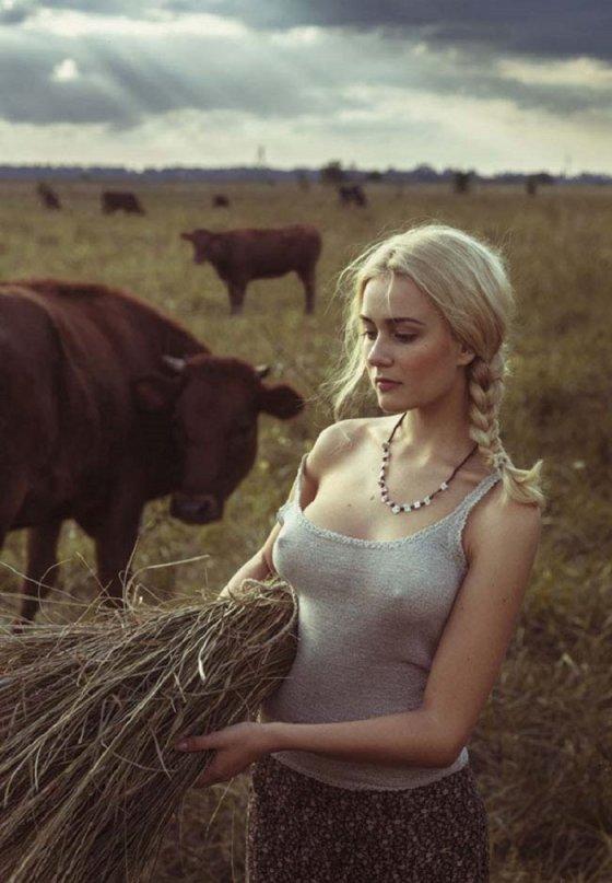 სლავური სილამაზე დავით დუბნიცკის ფოტოსურათზე