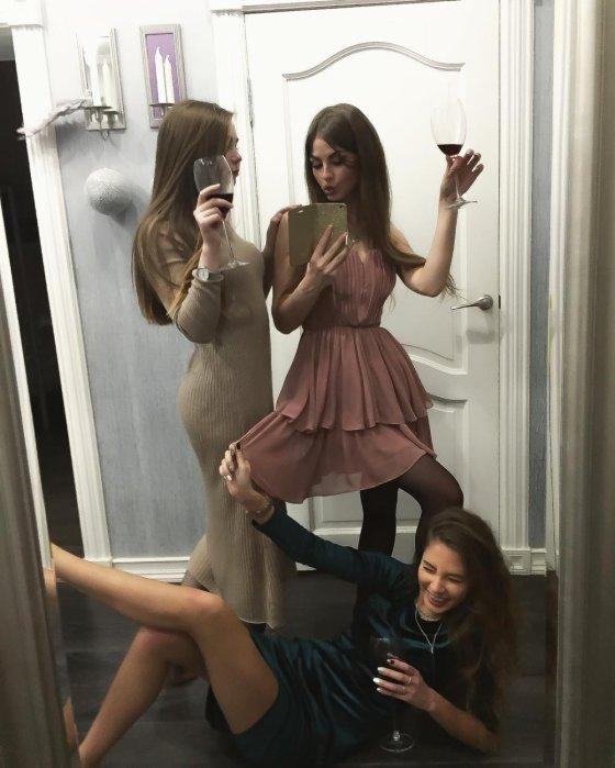 მთვრალი რუსი გოგონები