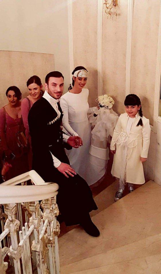 უმშვენიერესი წყვილის ანდრია გველესინის და მაიკო ვასაძის ზღაპრული ქორწილი