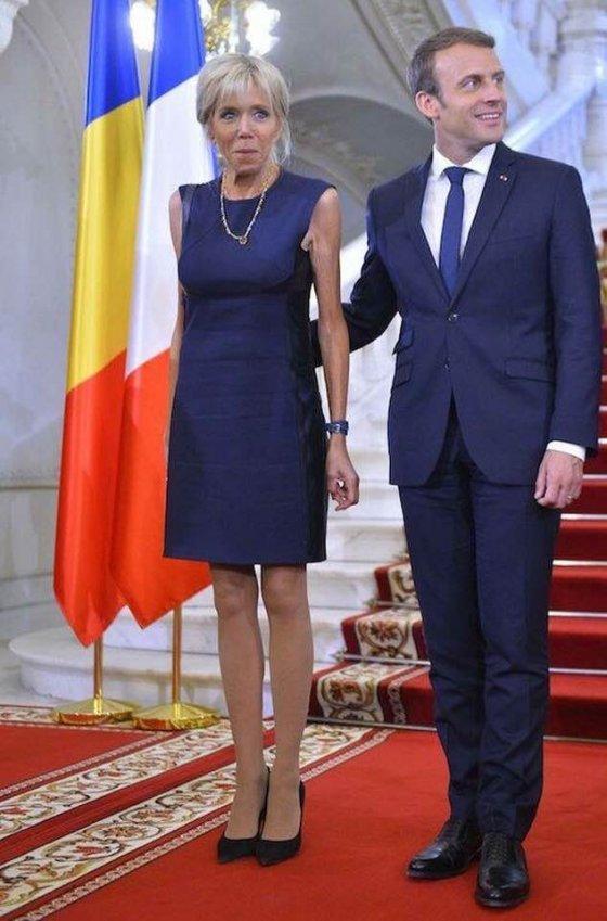 მართლაც, რომ არა სიყვარული საფრანგეთის პრეზიდენტს დედის ასაკის ქალთან რა გააჩერებდა