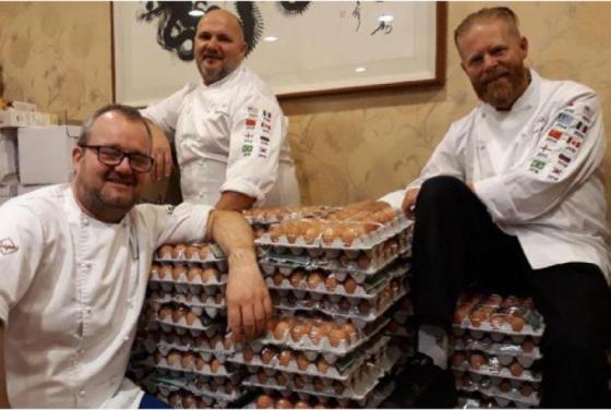 კვერცხებზე ზიან