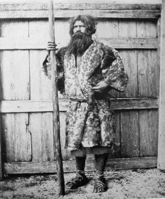 აინურები - ცნობილები არიან, როგორც იაპონიის პირველი ადგილობრივები, 1880 წელი