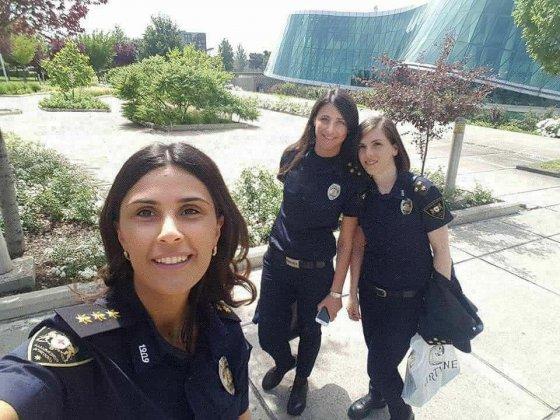 ულამაზესი, საქართველოს  საპატრულო პოლიციის ოფიცერი გოგოები